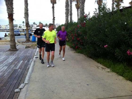 Lauf vom Hafen zum Hotel