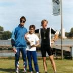 1990 - Staffel-Triathlon in Spandau Platz 1