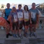 Unsere Lauftreffgruppe vor dem Start