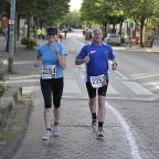 Meine Lauf-Partnerin und ich in Uelzen 2009 mit neuer PB