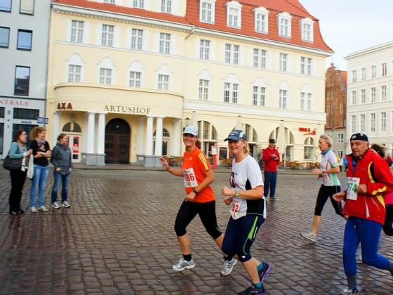 Stralsund - Rügenbrücken-Marathon 2012