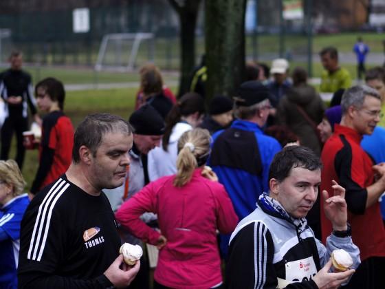 Pfannkuchenlauf Berlin-Pankow auf dem Kissingensportplatz